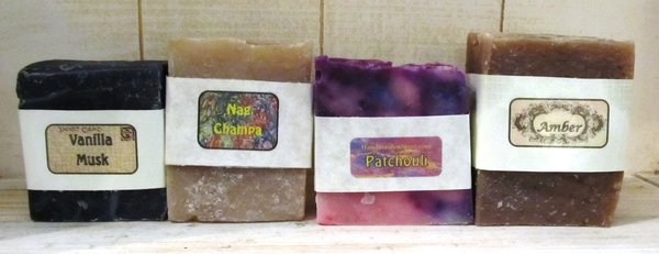 Earthy Scented Bar Soaps