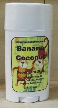 Banana Coconut Deodorant Stick: Fragrance Oils