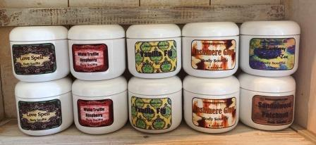 Body Soufflés - Earthy Scents